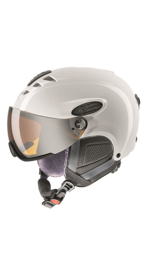 UVEX hlmt 300 - Casque de ski - blanc